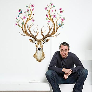 Dieren / Kerstmis / Feest Wall Stickers Vliegtuig Muurstickers / Spiegel muurstickers Decoratieve Muurstickers,pvc Materiaal Verwijderbaar