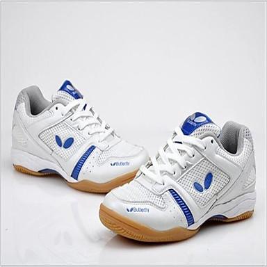 Unisexe Chaussures Polyester Tulle Printemps Eté Automne Confort Chaussures d'Athlétisme Badminton Tennis pour Rouge Bleu
