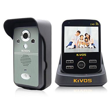 Sem Fio Fotografado 3.5 Telefone 320*240 Interfone de Vídeo Um para Um