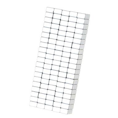 100 pcs 8*5*3mm Brinquedos Magnéticos Blocos de Construir / Cubo de quebra-cabeça / Ímã de Neodímio Imã Adulto Dom