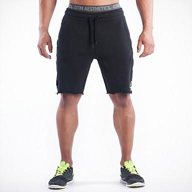 Homens Shorts de Corrida Respirável Redutor de Suor Confortável Shorts Calças Exercício e Atividade Física Corridas Esportes Relaxantes