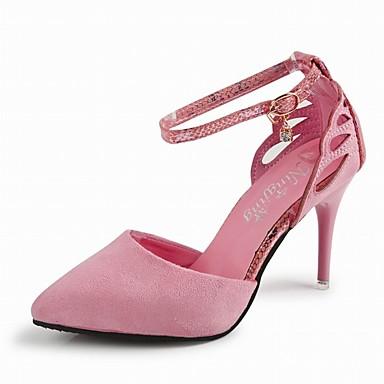 kvinners sko stiletto hæl hæler / spiss tå / lukkede Sandaler bryllup / kontor; karriere / kjole