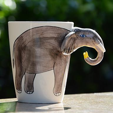 Vannflasker Kaffekrus Reisekrus Te & Varm Drikke 1pc Steingods, -  Høy kvalitet
