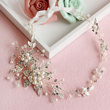 Krystall / Künstliche Perle / Aleación Stirnbänder / Kopfbedeckung mit Blumig 1pc Hochzeit / Besondere Anlässe Kopfschmuck