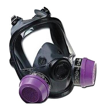 máscaras de gás de borracha caixa de filtro duplo