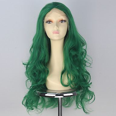 Pelucas sintéticas Ondulado Pelo sintético Peluca Encaje Frontal miss u hair