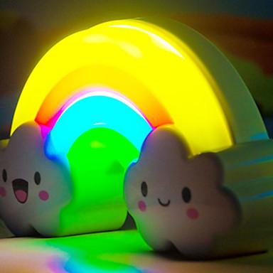 1P הקשת לילה אור מוצרים דקורטיביים לריהוט מתנות על נורות LED אקראיות צבע המנורה
