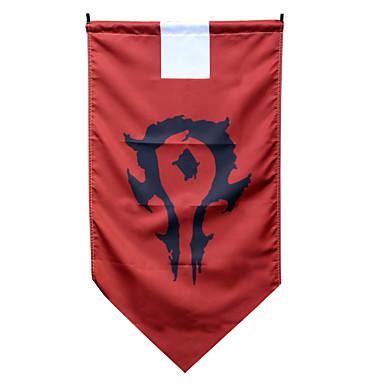 אביזרים נוספים קיבל השראה מ WOW קוספליי אנימה אביזרי קוספליי דגל טרילן בגדי ריקוד גברים / בגדי ריקוד נשים חדש / חם