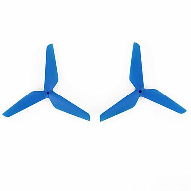 SYMA x5C SYMA hélices / peças Acessórios aviões de RC / RC Quadrotor Vermelho / Branco / Azul pet