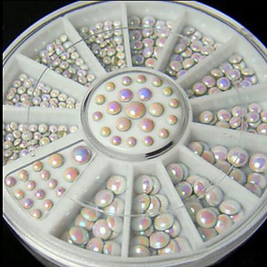 1 pcs Joyas de Uñas Encantador arte de uñas Manicura pedicura Diario Glitters / Clásico / Boda / Joyería de uñas