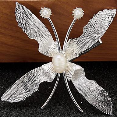 Femme Alliage Imitation de perle Casque-Mariage Occasion spéciale Pique cheveux 1 Pièce