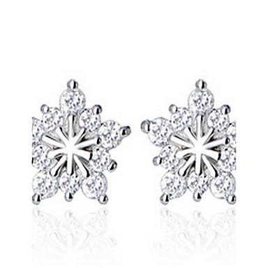 Ohrring Kreisform Schmuck 1 Paar Künstliche Perle / Modisch / bezaubernd Party / Alltag Aleación Damen Silber