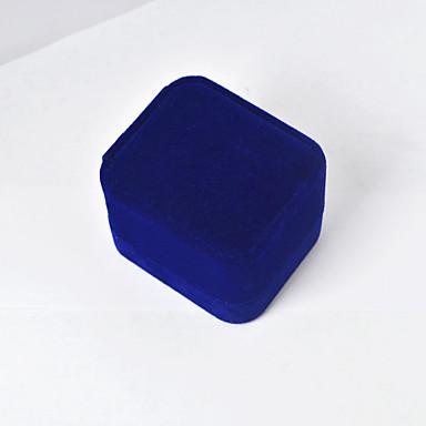 קופסאות תכשיטים בד כחול