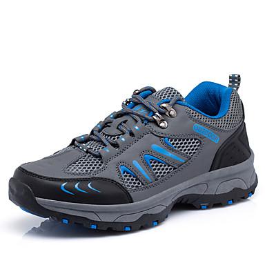 Sapatos Aventura Masculino Azul / Cinza / Verde Escuro Tule