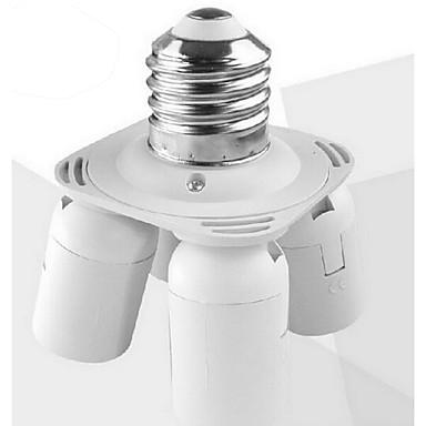 e27 bis 4 e27 führte lampensockeladapter hochwertige beleuchtung zubehör
