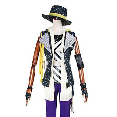 Inspiré par Autres Autres Anime Costumes Cosplay Costumes Cosplay Imprimé / MosaïqueManteau / Veste / Pantalons / Chapeau / Echarpe /