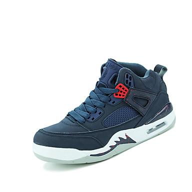 Homme Chaussures Tulle Hiver Printemps Eté Automne Confort Basketball Lacet pour Noir Bleu