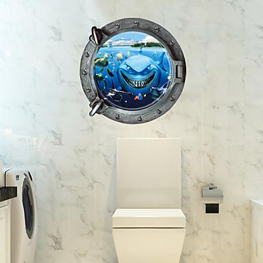 Calcomanías Decorativas de Pared - Calcomanías 3D para Pared 3D Sala de estar / Dormitorio / Baño / Removible