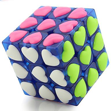 Zauberwürfel 3*3*3 Glatte Geschwindigkeits-Würfel Magische Würfel Puzzle-Würfel Profi Level Geschwindigkeit ABS Herz Silvester Kindertag
