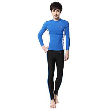 Autres Femme / Homme Combinaisons Tenue de plongée Compression Costumes humides 2.5 à 2.9 mm Rose dragée / Bleu S / M / L Plongée
