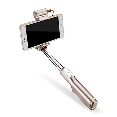 Selfie - Stick Bluetooth Ausziehbar Maximale Länge 88cm Universell Android iOS Apple Samsung Galaxy Huawei
