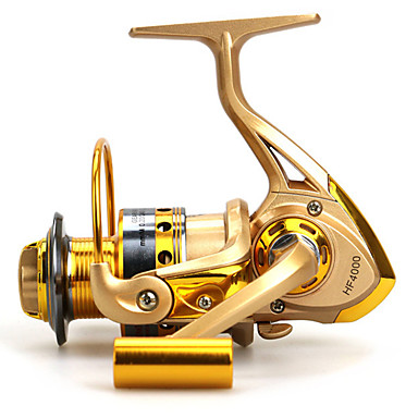 cheap Fishing Reels-Baitcasting Reel 5.5:1 Gear Ratio+12 Ball Bearings Hand Orientation Exchangable Sea Fishing / Bait Casting / Freshwater Fishing - Baitcast Reels