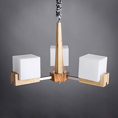 Moderne/Contemporain Rustique Lampe suspendue Pour Salle de séjour Chambre à coucher Salle à manger Bureau/Bureau de maison Chambre des
