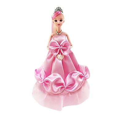 preiswerte Puppen-Puppenkleidung Mädchen Puppe Hochzeitskleid Abendkleid Niedlich Kunststoff Baby Mädchen Spielzeuge Geschenk