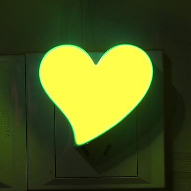 1pcs herzförmige Atmosphäre Cartoon Nachtlicht Nachtlicht Nachttischlampe Liebe Form Licht Studie Schreibtischlampe