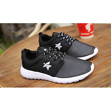 Blanco Deportivo Primavera Negro Tacón Zapatos Para blanco Otoño Confort Tul Mujer 05080339 Plano Negro Casual qvAwRxw