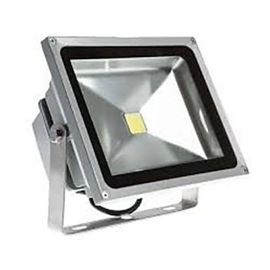 1pc 50W LED Flutlichter Leicht zu installieren Wasserfest Dekorativ Außenbeleuchtung Warmes Weiß Kühles Weiß 85-265V