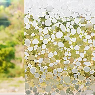 幾何学模様 コンテンポラリー ウインドウステッカー,PVC /ビニール 材料 窓の飾り