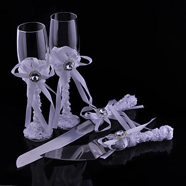 זכוכית נטולת עופרת חלילי קלייה 4Pieces לא מותאם אישית קופסאת מתנה