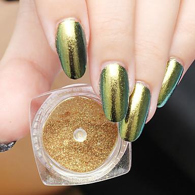 1 Nagel-Kunst-Aufkleber Puder Make-up kosmetische Nagelkunst Design
