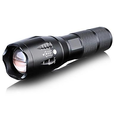 LED懐中電灯 LED 1000 ルーメン 5 モード Cree T6 その他 焦点調整可 自己防衛 防水 日常使用