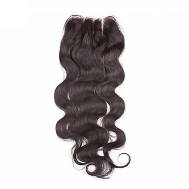Body wave Część U Chiński Lace Włosy naturalne 3 Część