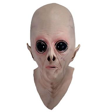 skummelt silikon ansiktsmaske fremmede ufo ekstra bakke partiet et horror gummi latex fulle masker til halloween fest leketøy