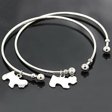 Damen Armreife Manschetten-Armbänder Modisch Aleación Kreisform Tierform Hund Schmuck Für Hochzeit 1 Stück