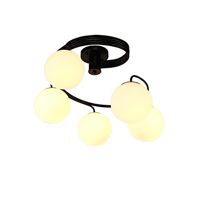 נברשות ,  מודרני / חדיש צביעה מאפיין for LED סגנון קטן מתכת חדר שינה חדר אוכל