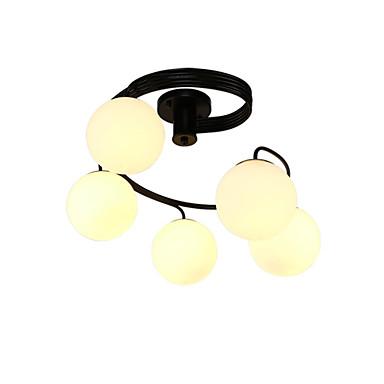 Lustres ,  Contemprâneo Pintura Característica for LED Estilo Mini Metal Sala de Estar Quarto Sala de Jantar