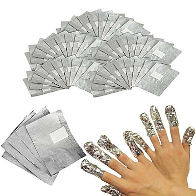 100pcs Cotton Pad Negle kunst Manicure Pedicure Klassisk Daglig