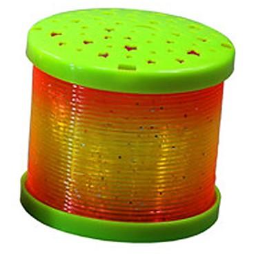 1pc førte batteri tilfældig farve originalitet knickknack projektion nat-lys