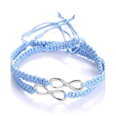 Armbånd loom Armbånd Resin Geometric Shape Mode Bryllup / Party / Daglig / Afslappet / Sport Smykker Gave Sort-Hvid,1pc