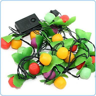 28 johti 5,5 omena led string valot