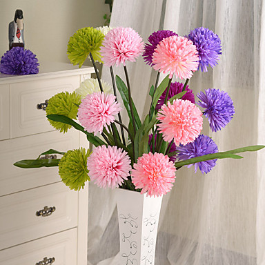 1pc 1 Afdeling Polyester / Plastik Others Gulvblomst Kunstige blomster 44inch/112CM