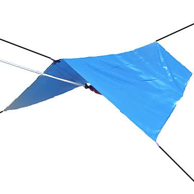 3-4 Personen Zelte & Planen Zeltplanen Camping Zelt Wasserdicht UV-resistant Regendicht Sonnenschutz Extraleicht(UL) Silber Beschichtung