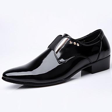 Oxford-kengät-Tasapohja-Miehet-Kiiltonahka--Rento Juhlat-Comfort