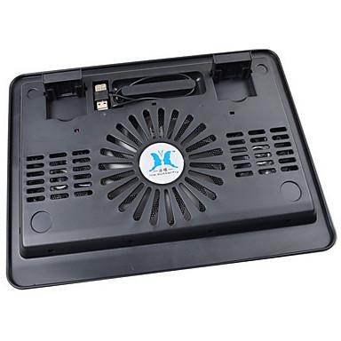 laptop super stor fan køling pad med LED lys