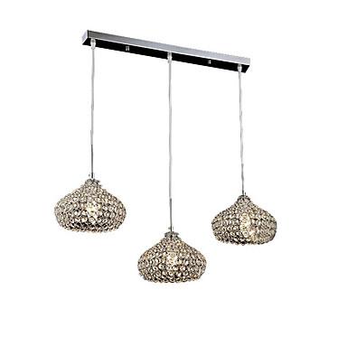 Modern/Zeitgenössisch Kristall Ministil Designer Kronleuchter Moonlight Für Wohnzimmer Schlafzimmer Küche Esszimmer Studierzimmer/Büro