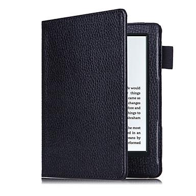 Etui Til Amazon Fuldt etui Tablet Etuier Helfarve Hårdt PU Læder for